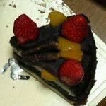 弟がもらったバースデイケーキ