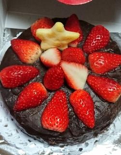 あんこのケーキ